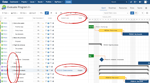 Big Picture Gantt Chart Jira Portfolio Gantt Chart The Easy Way Softwareplant