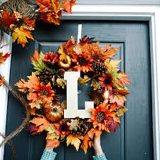 fall front door decorationsSimple Fall Front Door Decor Ideas  The Home Depot Blog
