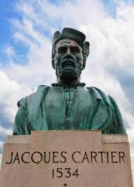 「1534 – Jacques Cartier is the first European to describe and map the Saint Lawrence River.」の画像検索結果