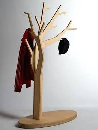 Wooden Tree Coat Rack Enchanting Tree Coat Rack Tree Shaped Coat Rack Made Of Wooden Base And Tree