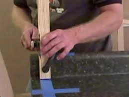 cutting laminate countertop using a japanese pull saw