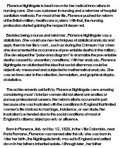essay on nightingale florence nightingale essay by luci104 anti essays