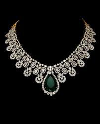 Diamond Designs Diamond Necklace India Epclevittown Org