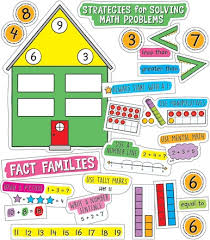 Easy Anchor Charts Working With Numbers Bulletin Board Set Grade K 2
