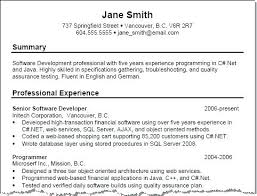 Career Summary Examples Summary Sample For Resume Professional Summary Resume Examples