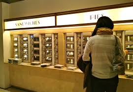 Vending Machine Restaurant Nyc Inspiration Horn And Hardart Automats Redefining Lunchtime Dining On A Dime