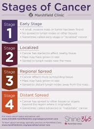 Breast Cancer Staging Chart A Guide Cancer Stages Terms And Side Effects Shine365