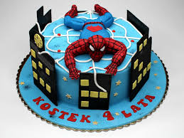 Images Spiderman Cakes Wedding Academy Creative Cool Spiderman
