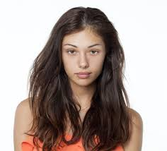 models without makeup