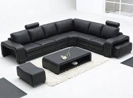 Modern Leather Couch Contemporary Leather Living Room Furniture Best