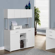 white office credenza. Lauren Monarch Office Storage Credenza | White Furniture S
