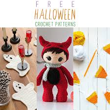 Halloween Crochet Patterns Awesome Free Halloween Crochet Patterns The Cottage Market