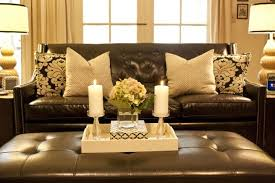 interior throw pillow ideas for leather couches acceptable pillows brown couch magnificent 4 pillows
