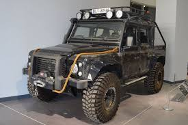 Previous; Next. James Bond Land Rover Defender. Petersen Museum  International Harvester Pickup ...