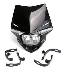Enduro Lights Sucan Universal Motorcycle Headlamps With Led Turning Lights For Ktm Honda Yamaha Kawasaki Suzuki Enduro Black