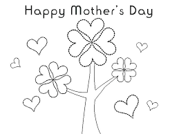 Print A Mother S Day Card Online Coloring Pages For Adults Easy Disney Kids Plain Ideas Family Page A