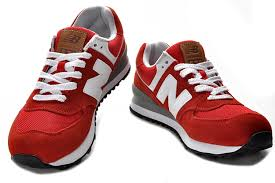 new balance shoes red and black. (a43b4f) new balance 574 ml574ua red white black shoes and