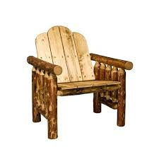 Rustic wood patio furniture Innovative Glacier Country Exterior Stain Deck Chair Exterior Finish Bellacor Rustic Lodge Outdoor And Patio Furniture Free Shipping Bellacor
