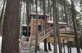 treehouse masters treehouses. \u0027Treehouses Let You Forever Be A Kid,\u0027 Says Owner Of House In Monmouth - CentralMaine.com Treehouse Masters Treehouses