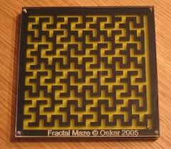 Wooden Maze Game With Ball Bearing clickmazes 9