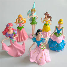Disney Princess Cake Topper 3 Pieces Toys Games Stellar