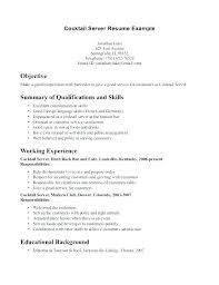 opening objective for resume objective for resume server bmw chicago