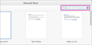 How To Make A Brochure On Microsoft Word Mac Create A Booklet Using A Word Template Office Support