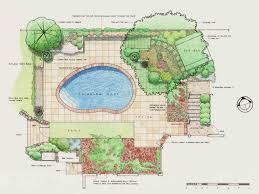 backyard design plans.  Plans Backyard Design Plans Landscape Pla Awesome With C