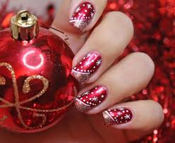 10 Most Cute Christmas Nail Art Designs | Housewife World
