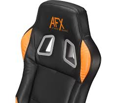 afxchair16 gaming chair black orange