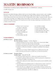 Resume Samples Uva Career Center Mock Examples Resume Sydney T