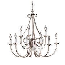 kichler lighting dover 9 light chandelier view larger
