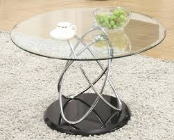 round glass coffee table sets glass coffee table wood base