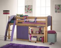 Scallywags Bedroom Furniture Cresta Scallywag Kids Cabin Mid Sleeper Bed Bed Post