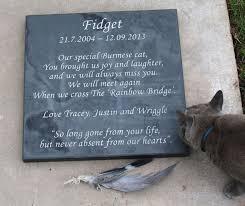 cat memorials feline memorial stones