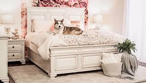 Calloway White 3-Piece Bed, Dresser, Mirror & Nightstand