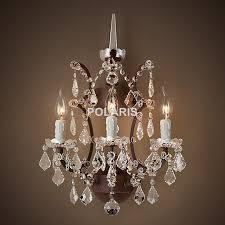 tremendeous chandelier wall sconce on lamp light modern art decor vintage crystal