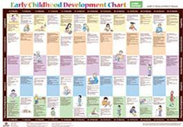 developmental milestones chart early childhood development chart third edition kit judith k