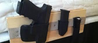 diy bedside holster system