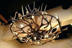 farmhouse lighting fixtures for dining room faux deer antler chandelier small med chandeliers white exterior home depot
