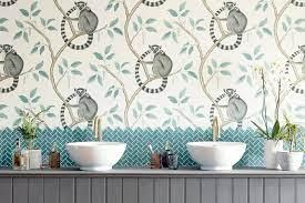 easy-hang botanical wallpapers proving ...