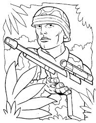 Coloring Pages Of Army Soldiers Army Coloring Pages Printable This