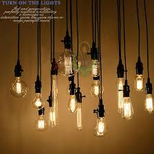 whole edison antique bulb pendant lamps diy nostalgic vintage within lights inspirations 16