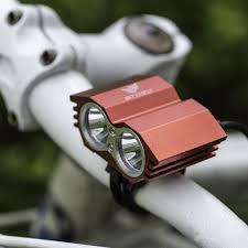 Xml U2 Bike Light Led Bike Light 5000 Lumen Waterproof Xml U2 Led Bicycle Light Bike Light Lamp Battery Pack Charger 4 Switch Modes Red