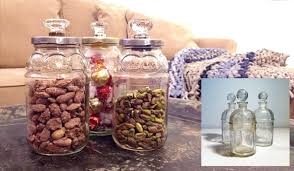 Decorative Glass Jars With Lids HOW TO make jars with decorative lids Relevé Design 30