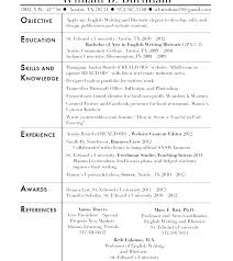 Social Work Resume Template Social Worker Resume Objective Examples ...