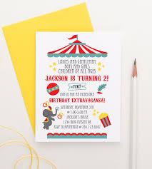 Carnival Birthday Invitations Circus Birthday Invitations Carnival Birthday Invitations For Kids