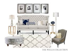 Edesign The Wells Collection Classic Living Room E Design