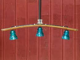 insulator light chandelier wine barrel stave 1 299 00
