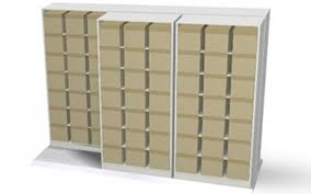 the result is a cost effective high efficiency lateral filing system that dramatically increases storage capacity within a given area